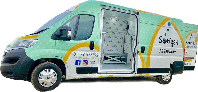 Mobile groomers van fully equipped